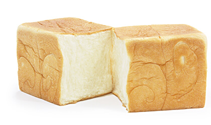 乃が美オリジナルブレンドの小麦粉を使用